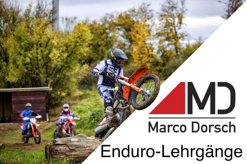 Marco Dorsch Enduro Training in Deutschland
